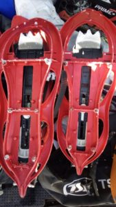 TSL snowshoes from Decathlon
