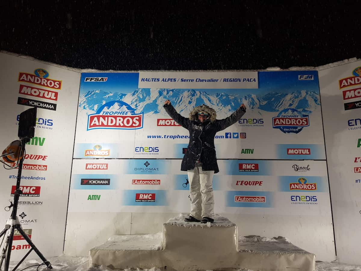 Podium Andros Trophy