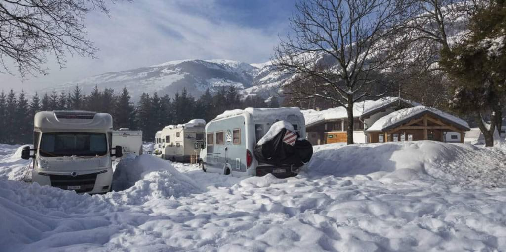 Camping Huttopia, Bourg St Maurice