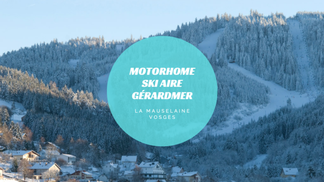Motorhome Parking Gérardmer Ski Area