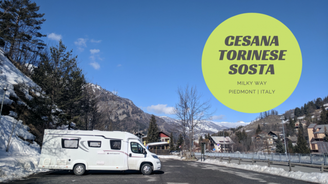 Cesana Torinese Motorhome Parking