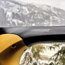 Essential Motorhome Ski Kit: Karcher Window Vac