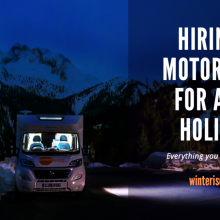 Hiring a Motorhome for a Ski Holiday