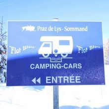 Which is Best for Motorhome Skiing – Aires or Campsites?