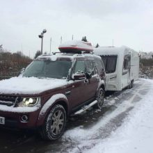 Can I Take My Caravan Skiing?