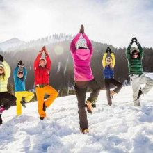 Getting fit for a motorhome skiing holiday