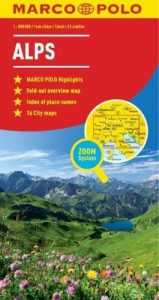 Marco Polo map of the alps