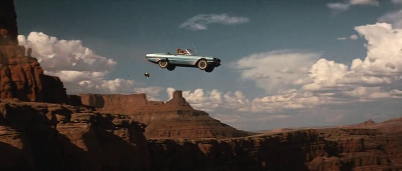 Thelma and louise cliff edge